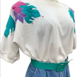 Vintage Alfred Dunner Balloon Style Blouse